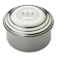 Penn State Pewter Keepsake Box