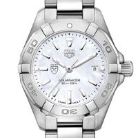 Emory Women's TAG Heuer Steel Aquaracer with MOP Dial