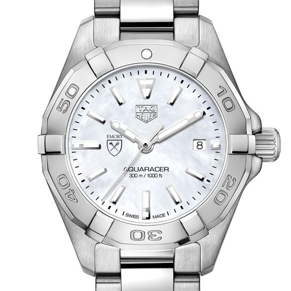 Emory University Women's TAG Heuer Steel Aquaracer w MOP Dial