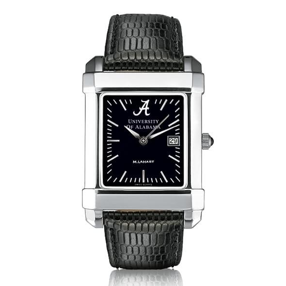 Alabama Men's Black Quad Watch with Leather Strap - Image 2