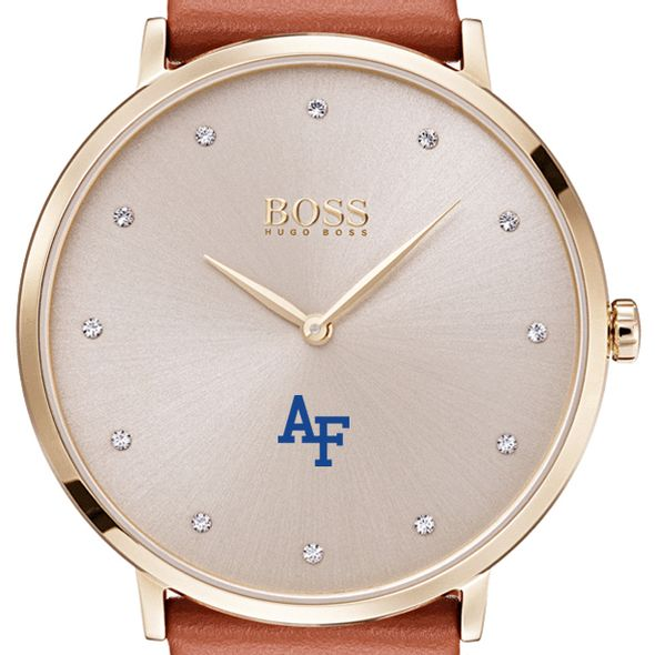 US Air Force Academy Women's BOSS Champagne with Leather from M.LaHart
