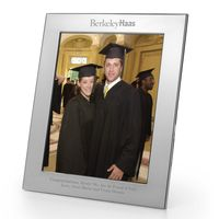 Berkeley Haas Polished Pewter 8x10 Picture Frame