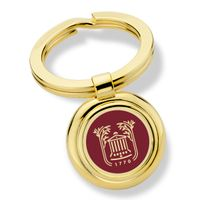 College of Charleston Enamel Key Ring