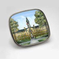 Princeton Eglomise Lapel Pin