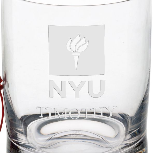 New York University Tumbler Glasses - Set of 2 - Image 3