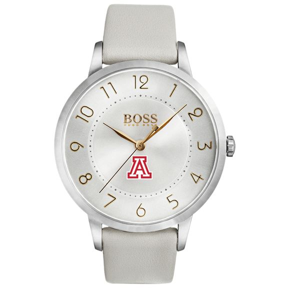 University of Arizona Women's BOSS White Leather from M.LaHart - Image 2
