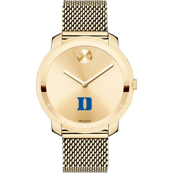 Duke University Women's Movado Gold Bold 36 - Image 2