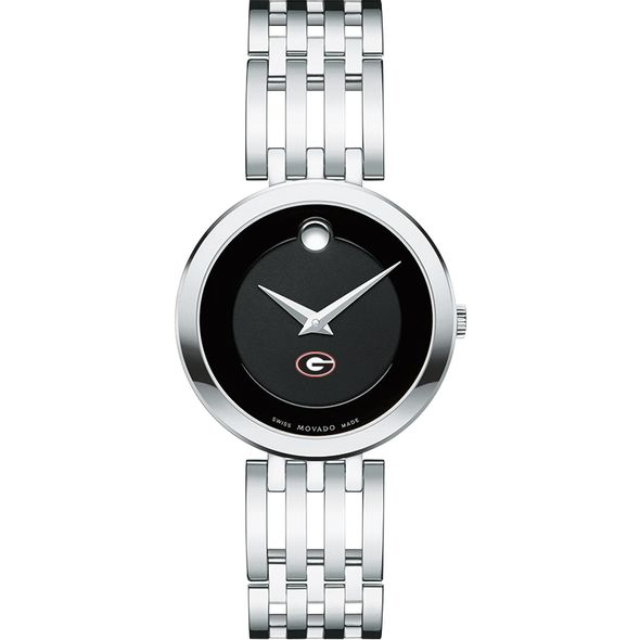 University of Georgia Women's Movado Esparanza Stainless Steel Museum with Bracelet - Image 2