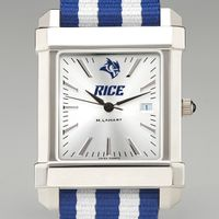 Rice University Collegiate Watch with NATO Strap for Men