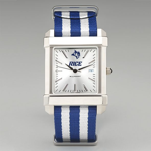 Rice University Collegiate Watch with NATO Strap for Men - Image 2