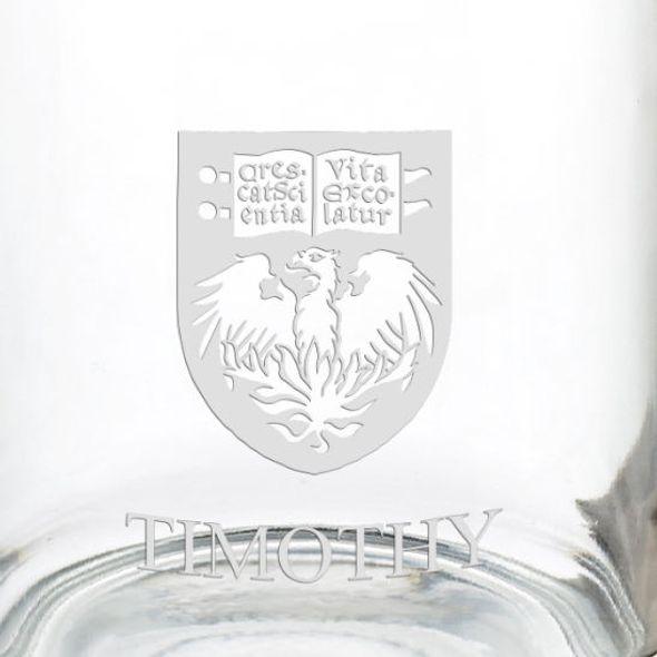 University of Chicago 13 oz Glass Coffee Mug - Image 3