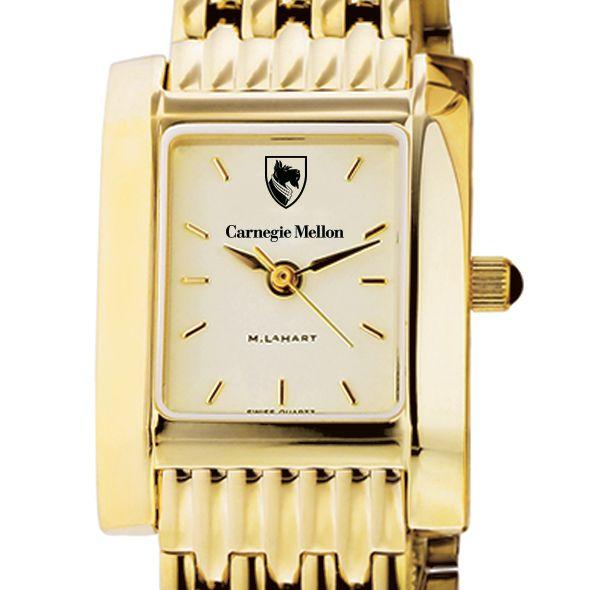 Carnegie Mellon University Women's Gold Quad with Bracelet