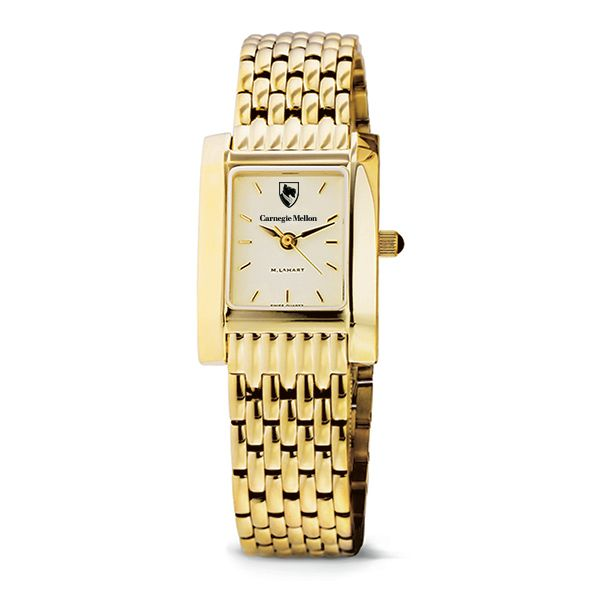 Carnegie Mellon University Women's Gold Quad with Bracelet - Image 2