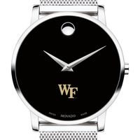 Wake Forest University Men's Movado Museum with Mesh Bracelet