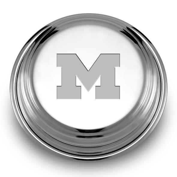 Michigan Pewter Paperweight - Image 2