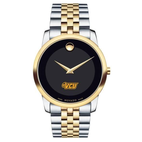 VCU Men's Movado Two-Tone Museum Classic Bracelet - Image 2