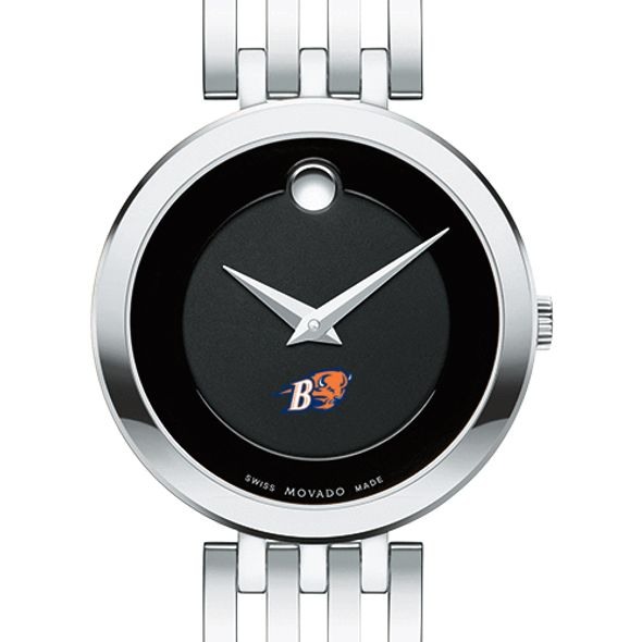 Bucknell University Women's Movado Esparanza Stainless Steel Museum with Bracelet