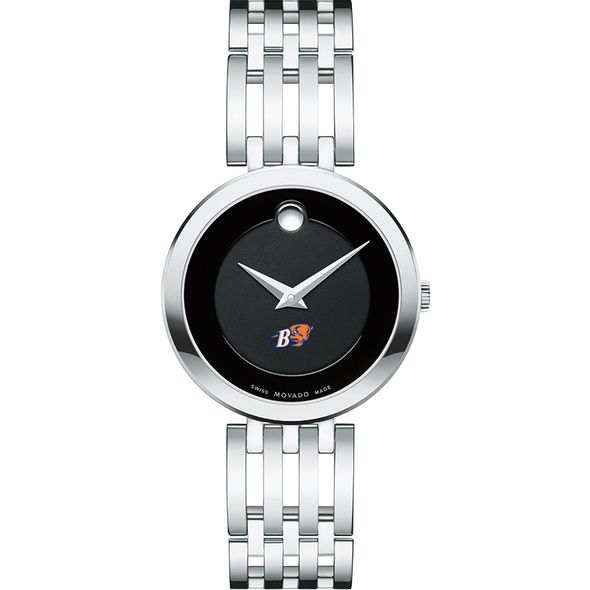 Bucknell University Women's Movado Esparanza Stainless Steel Museum with Bracelet - Image 2