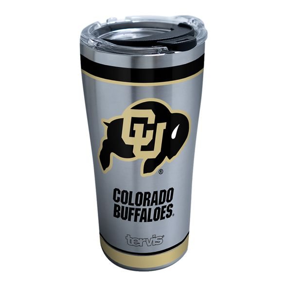 Colorado 20 oz. Stainless Steel Tervis Tumblers with Hammer Lids - Set of 2 - Image 1