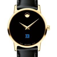 Duke Women's Movado Gold Museum Classic Leather
