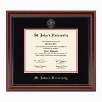 St. John's University Diploma Frame, the Fidelitas