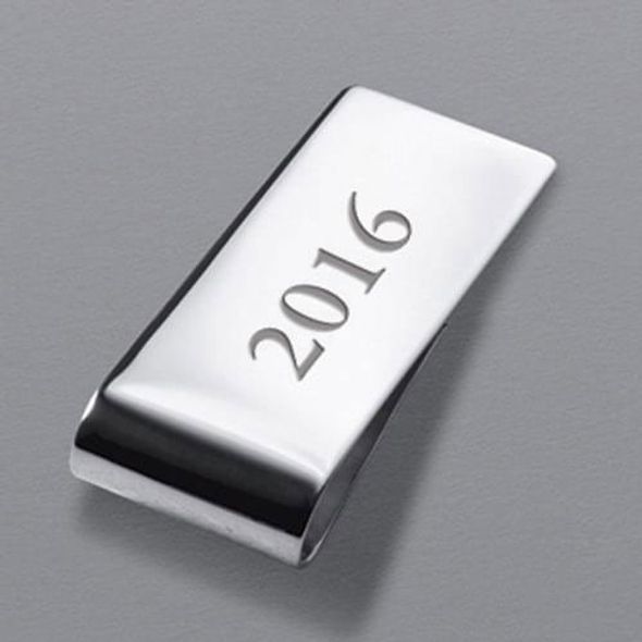 NYU Stern Sterling Silver Money Clip - Image 3