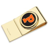 Princeton University Enamel Money Clip