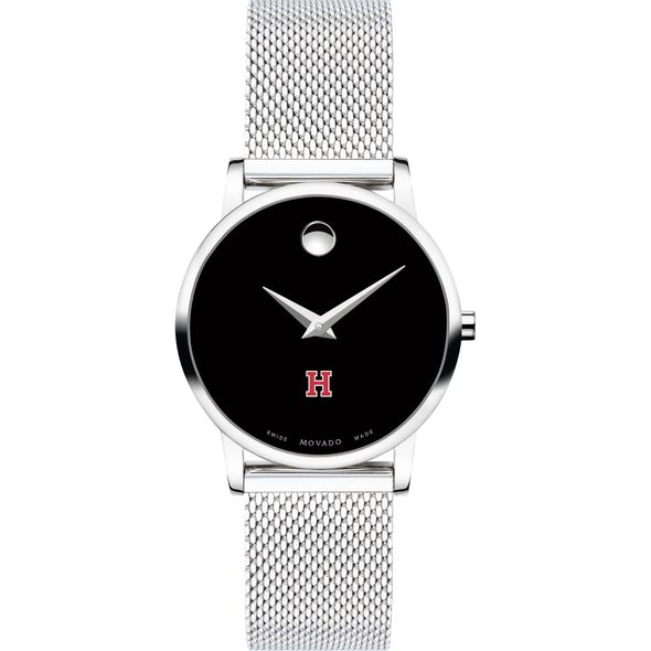 Harvard University Women's Movado Museum with Mesh Bracelet - Image 2