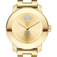 Emory University Women's Movado Gold Bold