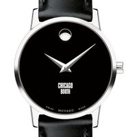 Chicago Booth Women's Movado Museum with Leather Strap