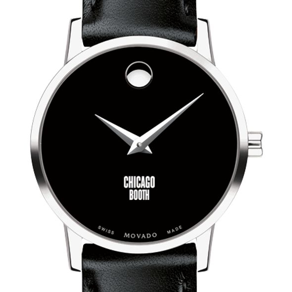 Chicago Booth Women's Movado Museum with Leather Strap - Image 1