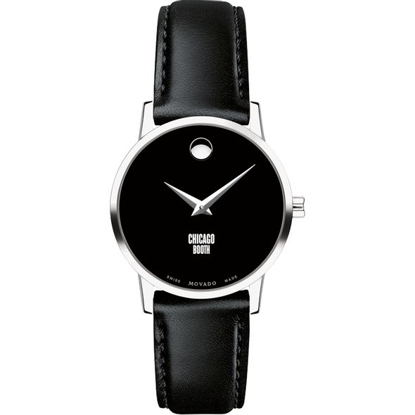 Chicago Booth Women's Movado Museum with Leather Strap - Image 2