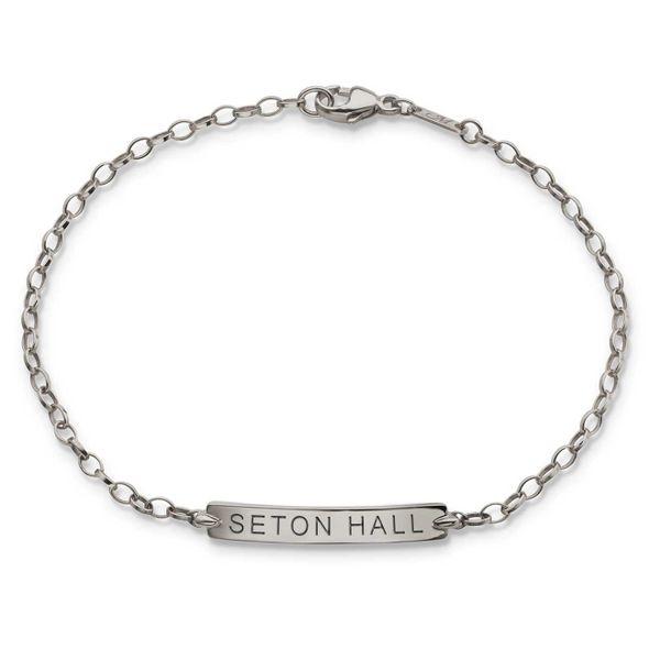 Seton Hall Monica Rich Kosann Petite Poesy Bracelet in Silver - Image 1