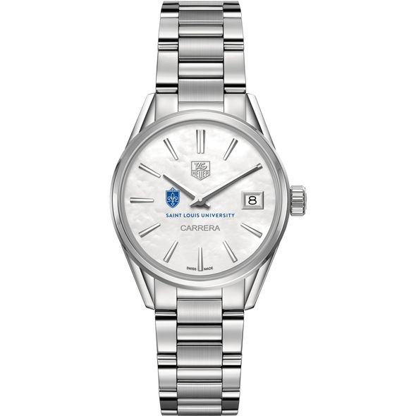 Saint Louis University Women's TAG Heuer Steel Carrera with MOP Dial - Image 2