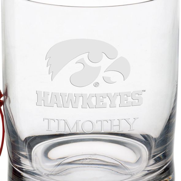 University of Iowa Tumbler Glasses - Set of 4 - Image 3