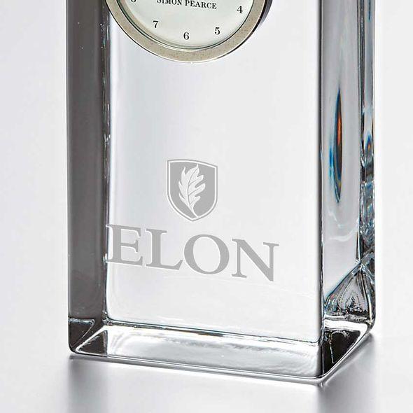 Elon Tall Glass Desk Clock by Simon Pearce - Image 2