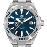 Lehigh University Men's TAG Heuer Steel Aquaracer with Blue Dial