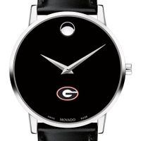 Georgia Men's Movado Museum with Leather Strap