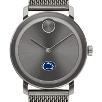 Penn State University Men's Movado BOLD Gunmetal Grey with Mesh Bracelet