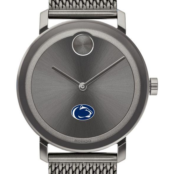 Penn State University Men's Movado BOLD Gunmetal Grey with Mesh Bracelet