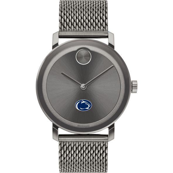 Penn State University Men's Movado BOLD Gunmetal Grey with Mesh Bracelet - Image 2