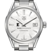 Elon Women's TAG Heuer Steel Carrera with MOP Dial