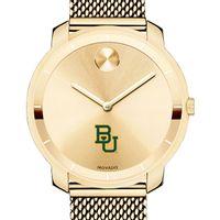 Baylor University Women's Movado Gold Bold 36