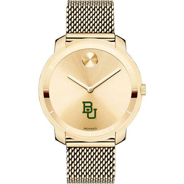 Baylor University Women's Movado Gold Bold 36 - Image 2