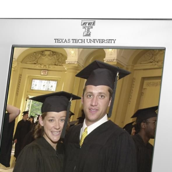 Texas Tech Polished Pewter 8x10 Picture Frame - Image 2