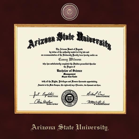 Arizona State Excelsior Frame - Image 2