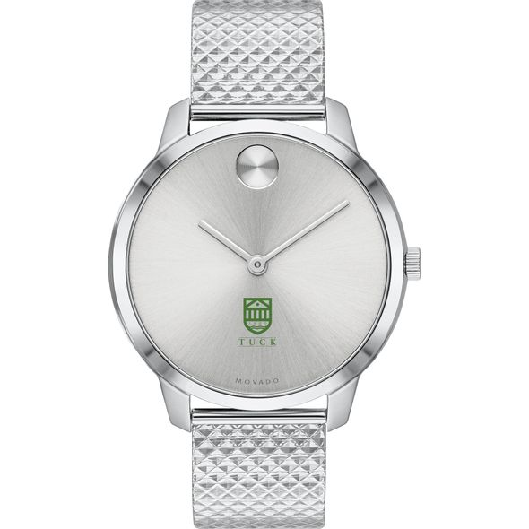 Tuck School of Business Women's Movado Stainless Bold 35 - Image 2
