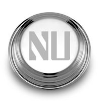 Northwestern Pewter Paperweight
