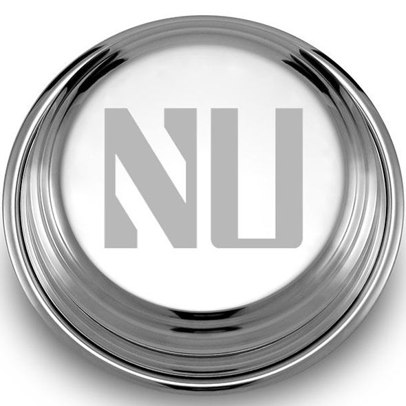 Northwestern Pewter Paperweight - Image 2