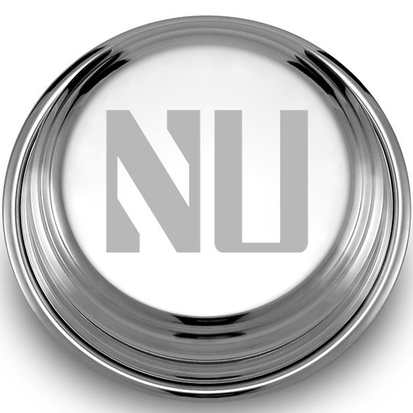 Northwestern Pewter Paperweight - Image 2